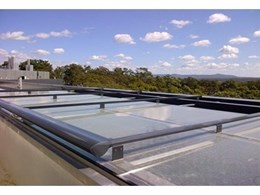 Helioscreen retractable roof systems used in new medical research centre