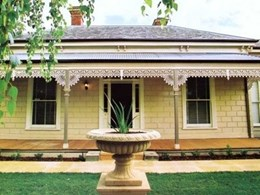 Heritage cast iron lacework and balustrade in Geelong, Queenscliffe, Ballarat and Bendigo