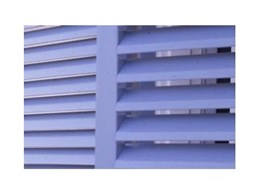 Heritage exterior timber louvres available from OpenShutters