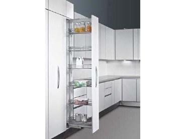 Hettich S Pull Out Pantry Systems For Superior Kitchen Storage Architecture And Design