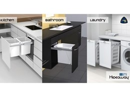 Hideaway Bins to be displayed at the 2014 Melbourne Home Show