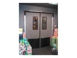 High impact traffic doors available from DMF International