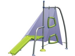 Hills Playing Mantis play equipment range available from The Clothesline Doctor