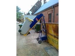 Hired Wheelie Bin Lifter from Kennards Lift & Shift Makes Life Easier for Rubbish Disposal