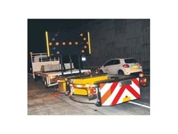 Hired attenuators from Kennards Hire enhance safety on M2 project
