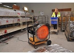 Hired portable heaters from Kennards Hire 'deliver' for postal staff