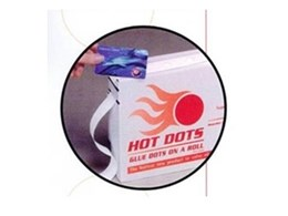 Hot Dots adhesives available from Adept Industrial Solutions