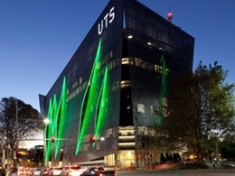 Hotbeam linear LED lights deliver facade lighting at UTS Broadway