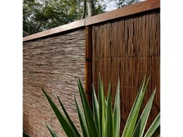 House of Bamboo stocks Natureed fence cladding