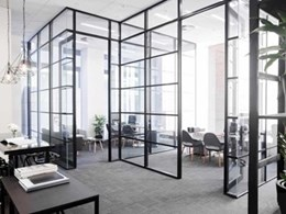 How Criterion Industries' partitioning suite is supporting the Glass House Office trend
