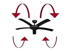 Hunter Pacific ceiling fans are also effective in winter