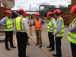 Hyne Timber mill in Tuan welcomes Fraser Coast Mayor and Councillors
