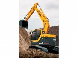 Hyundai excavator with Hi-Mate remote monitoring positions demolition company for business growth