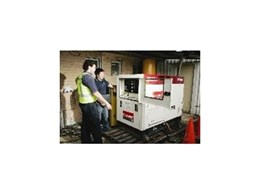 IFS hire extra large generators from Kennards Hire