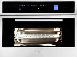 ILVE combines steam and fan-forced functions in new combination steam oven