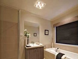 IXL heat, light and ventilation products collection for blissful bathrooms