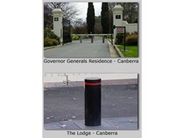 Image Bollards WA agent for ATG Access impact and crash rated heavy duty bollards