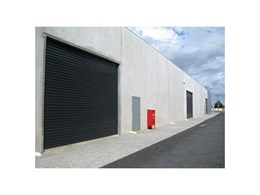 Industrial roller shutters available from Statewide Door Services
