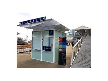 Infrastructure Design Ticket Booth For Australian National