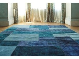 Innovative vintage patchwork rugs now available from Transforma