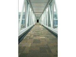 InterfaceFLOR provide natural pallete of flooring solutions for Adelaide Airport refurbishment