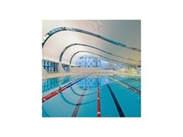 Interior linear ceiling used in new & striking Australian project: Ian Thorpe Aquatic Centre