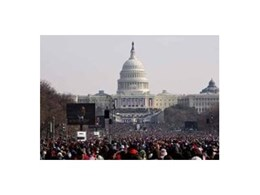 JBL VerTec line arrays utilised for inauguration of American President Barack Obama
