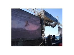 JBL sound equipment used for events throughout Sydney