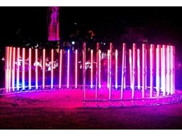 Jands Vista M1 light control consoles used for Immersion light sculpture in Vivid Sydney