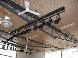 Jands provide lighting fixtures and equipment to the Sacred Heart School