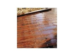 Jetty decking from Australian Recycled Timbers