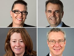 Four new members join GHD's Australian leadership team