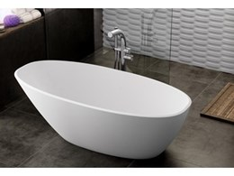 Just Bathroomware introduces new Mozzano freestanding baths from Victoria + Albert