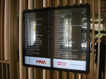 Just Digital Signage Installs Digital Directory Boards At