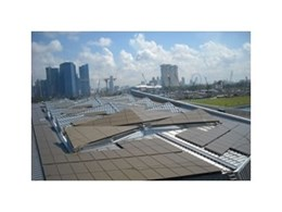 KALZIP installs roof system at Singapore International Cruise Terminal