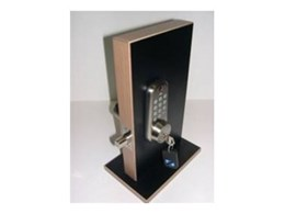 KEEFREE electronic deadbolt available from Locks Galore