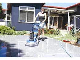 Kennards Hire concrete grinder helps with home renovation