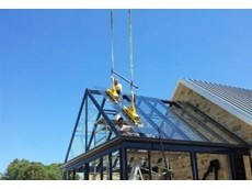 Kennards Lift & Shift use vacuum lifters to solve glass roof installation issue