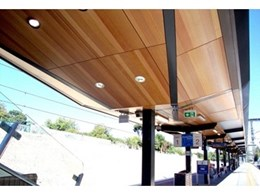 Keystone Linings provides KEY-PLY wall and ceiling panels for Nunawading Railway Station