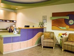 Appealing colours and textures in Wilsonart's laminate range bring comfort to Florida foster care facility
