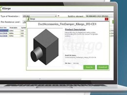 Kilargo's fire dampers now available in Revit for BIM projects