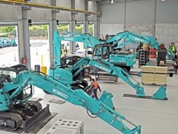 Kobelco's longest-serving dealer moves to new spacious premises