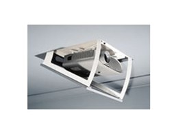 LP Morgan Dipper projector mounting systems from Herma Technologies ideal for concealing projectors in standard ceilings