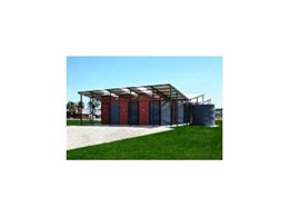 Landmark Products install restroom at QLD Skate Park Facility