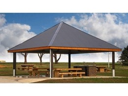 Landmark Products' modified shelters used for Melton Shire Council