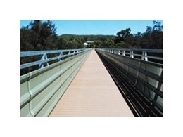 Landmark Products offers steel truss bridges