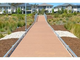Landmark boardwalk installed in Gregory Hills development