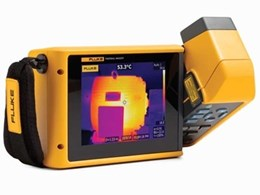 Large LCD touchscreen takes Fluke infrared cameras to a whole new level