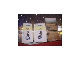 Large sized banner stands for outdoor advertising and exhibition displays by Tornado Displays