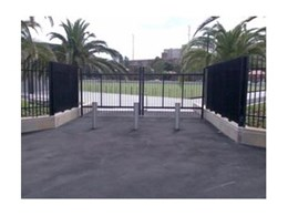 Leda-Vannaclip install gates and fencing at Redfern Oval